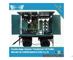 Vfd R Vacuum Insulation Oil Regeneration Purifier