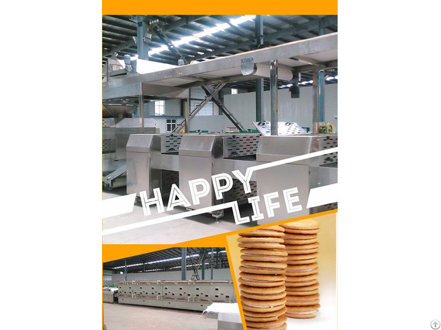 China High Output Biscuit Machine