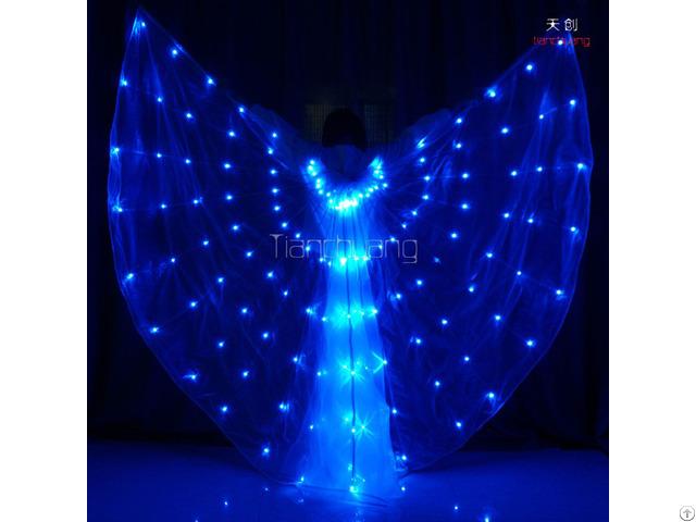 Led Isis Wings Luminous Costume