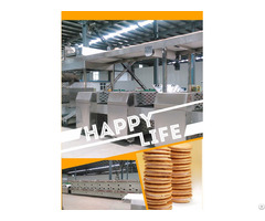Factory Newest Design Low Cost Sandwich Biscuit Machine
