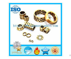 Solid Bronze Bushings And Plates Sliding Plate Self Lubricating Bushes