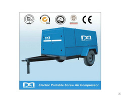 Energy Saving Diesel Portable Mobile Screw Air Compressor