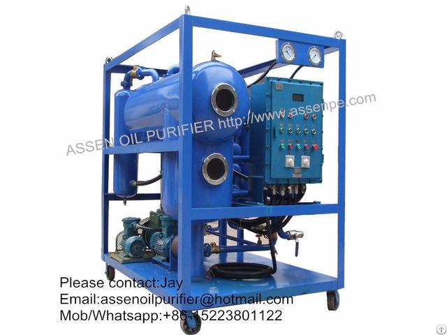Explosion Proof Type Hv Transformer Oil Regeneration System Machine