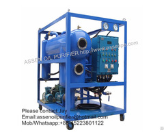 Explosion Proof Type Hv Transformer Oil Regeneration System Machine