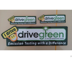 Uv Resistant Printed Reflective Stickers Outdoor