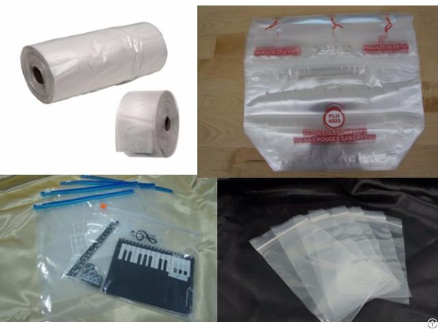 Plastic Bags Flexible Packaging