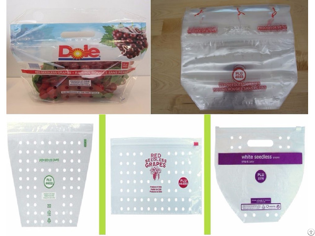 Fruit And Vegetable Bags Pouches For Produce