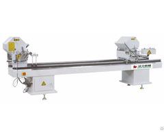 Double Head Cutting Saw Machine For Aluminum Pvc Profile