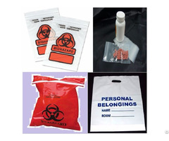 Medical Biohazard Specimen Healthcare Bags