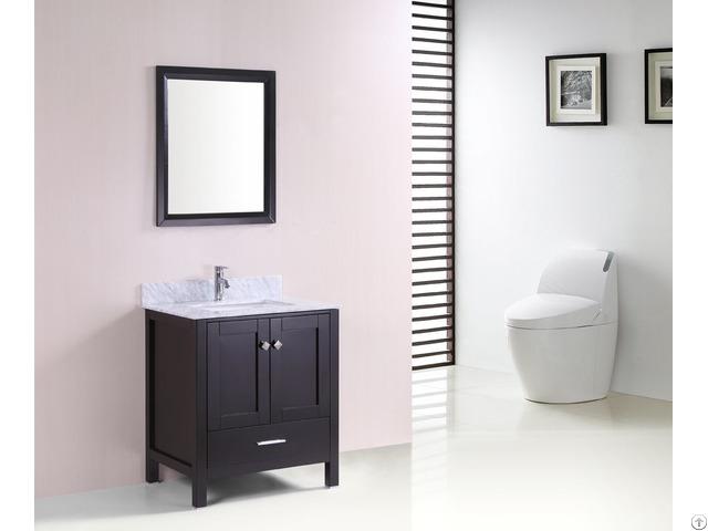 Morden Solid Wood Vanity Bathroom Cabinet