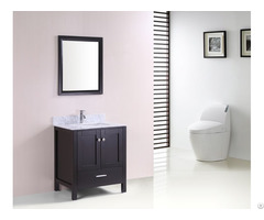 Morden Solid Wood Vanity Bathroom Cabinet