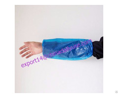 White Blue Oversleeve Disposable Plastic Pe Ldpe Sleeve Cover