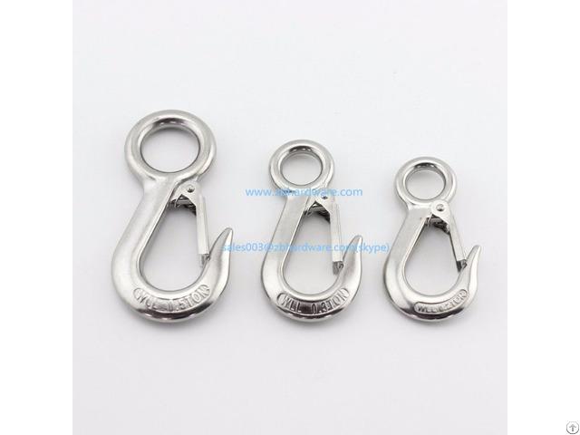 Cooper Stainless Steel Snap Eye Hook 4 Inch