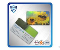 Metal Printing Rfid Card