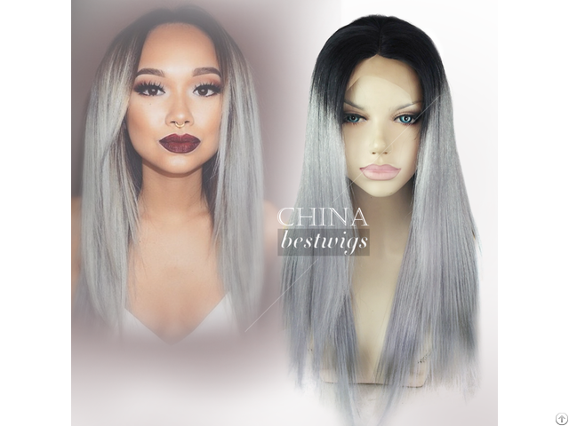 Straight Grey Wigs Can Ship Now