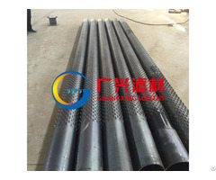 Stainless Steel Bridge Slotted Well Screen Tube