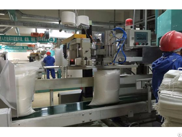 High Speed Open Mouth Packaging Machine