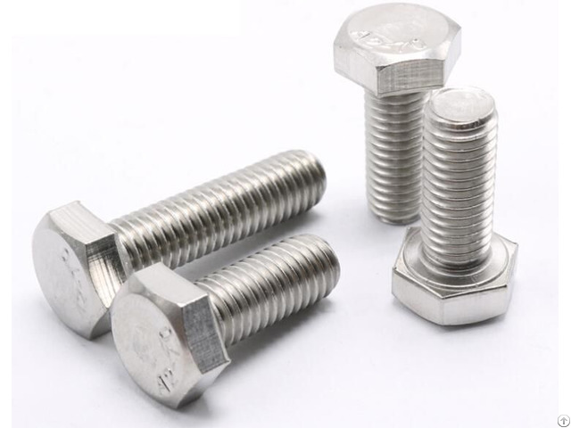 Full Thread Stainless Steel Hex Bolt Din 933 Astm A325