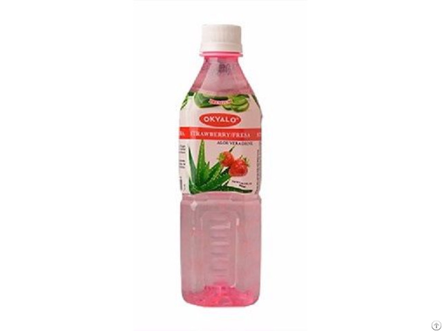 Okyalo Strawberry Aloe Vera Drink Okeyfood