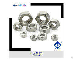 Stainless Steel Hex Nut M6 M8 M10 With All Size