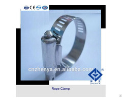 Single Bolt Automotive High Pressure Stainless Steel Wire Rope Clamps
