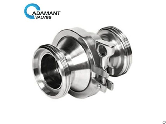 Sanitary Check Valve With Butt Weld Ends