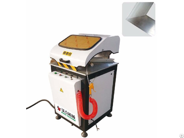 Alu Alloy 45 90 Degree Angle Cutting Machine
