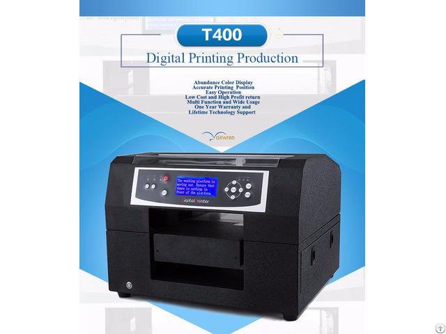 High Resolution Haiwn T400 Dtg T Shirt Printer