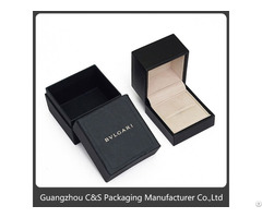 Accept Custom Nice And Classical Design Jewelry Ring Boxes