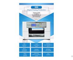 A3 Format Digital Flatbed Eco Solvent Ar 500 Printer