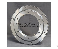 Va250309 N Four Point Contact Ball Slewing Bearing External Gear Teeth
