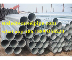 Pre Galvanized Steel Pipes Tubes Welded Pipe