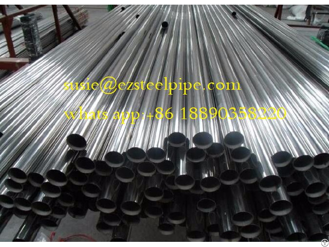 Seamless Stainless Steel Pipe With Diameter 2
