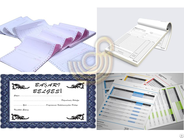 Printed Paper And Carton Products