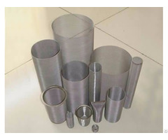 Tube Filter Features Smooth Surface And Firm Structure