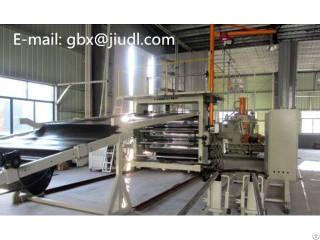 Calcium Carbonate Sheet Extrusion