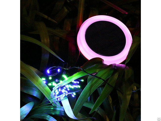 Christmas Decoration Solar String Light With 100 Led Color Changing And Remote Control