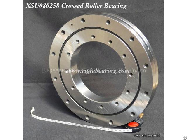 Xsu080258 Crossed Roller Bearing For Machine Tools