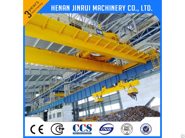 Double Girder Overhead Crane Used For Workshop