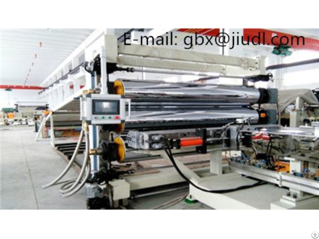Front Enclosed Sheet Extruder