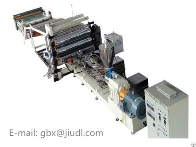 Interior Sound Insulation Pad Extruder