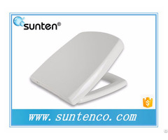 Quick Release Square European Toilet Seat In Xiamen