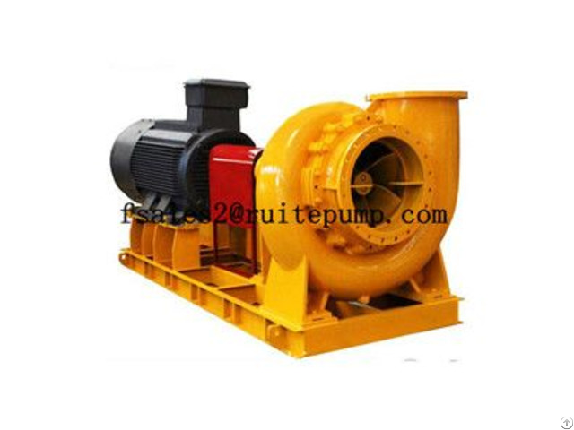 High Quality Hot Sale Tl Desulphurization Sump Slurry Pump
