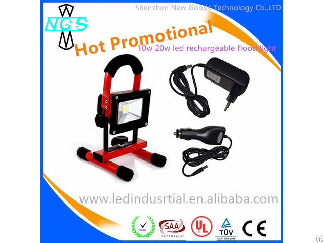 Wholesale 10w Led Rechargeable Flood Light