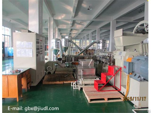 Pvc Cable Material Granulator Plastic Machine Production Line