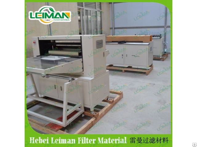 Lmcz55 1050 Ii Full Auto Oil Filter Paper Pleating Machine Production Line