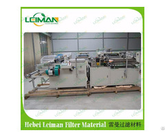 China Supplier Made High Quality Air Filter Rotary Pleating Machine Lmgt 600n