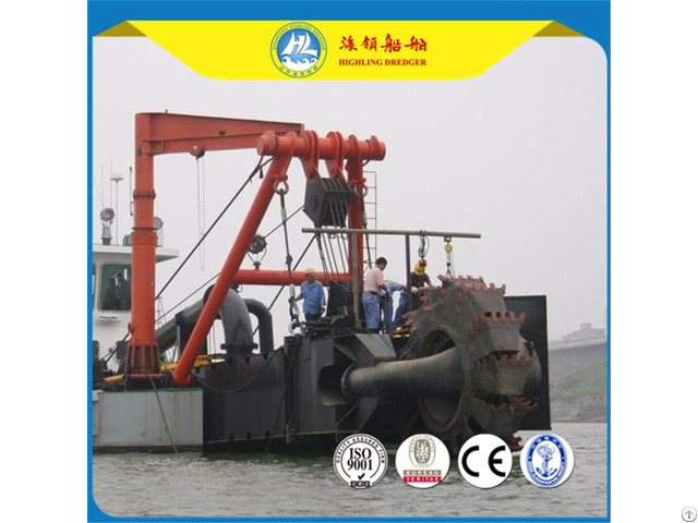 Different Sizes Hydraulic Cutter Suction Dredger