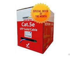 Bulk Cat5e Plenum Solid Copper Cable