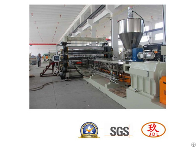 Cars Interior Sheet Extruder Production Line